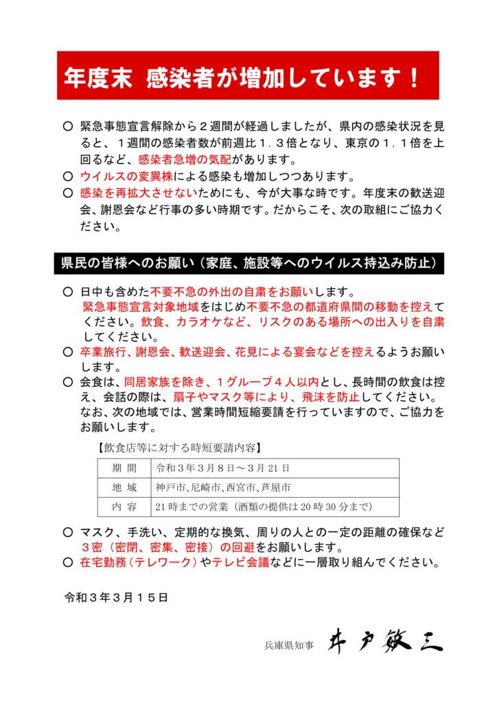 兵庫 県 コロナ ウイルス 感染 者